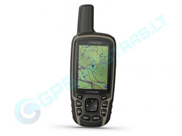 Garmin GPSMAP 64sx nešiojamas navigatorius