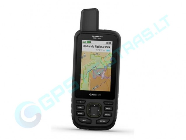 Garmin GPSMAP-66Sr nešiojamas navigatorius