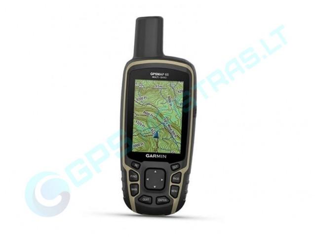 Garmin GPSMAP 65 nešiojamas navigatorius
