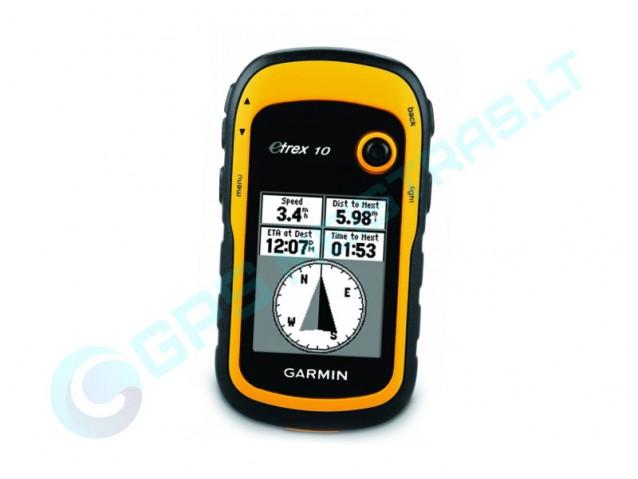 Garmin eTrex 10 nešiojamas GPS imtuvas