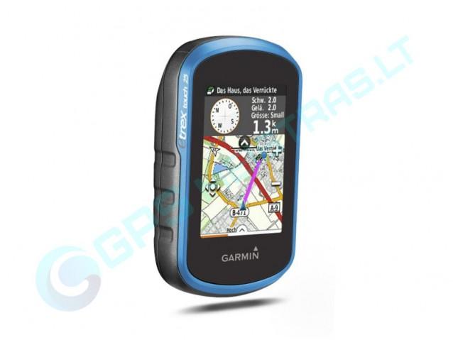 Garmin eTrex Touch 25 nešiojamas navigatorius