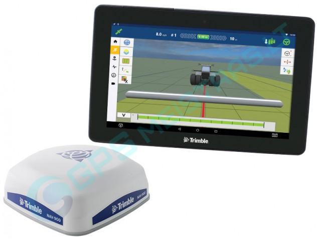 Trimble GFX-750 sistema su Android. Gyroskopas. NAV-900 tikslioji antena.