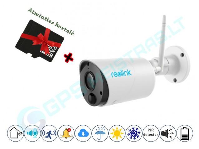 Reolink ECO kamera su PIR šilumos jutikliu