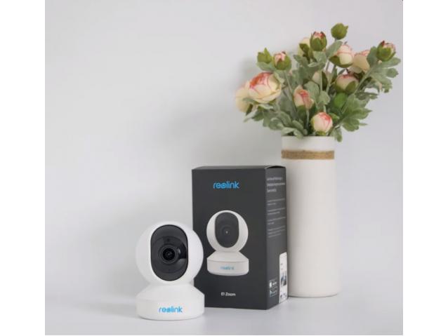 Reolink valdoma WiFi kamera E1 ZOOM 5Mpix, x4 artinimas