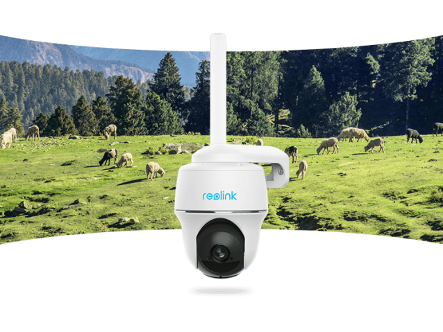 Reolink PT 4G SIM valdoma kamera su akumuliatoriumi